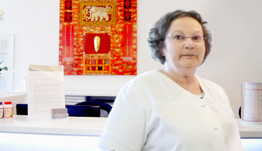 Mitarbeiterin Karin Schillinger